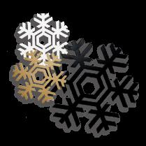 Snowflake, spiritual metal wall art